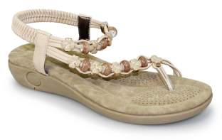 Lunar Womens Essence Beige Sandals